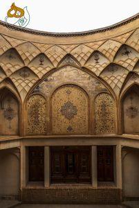 کاشان ـ ۱۶ - عمارت طباطباییها