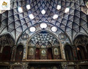 کاشان ـ ۲۰ - عمارت بروجردیها